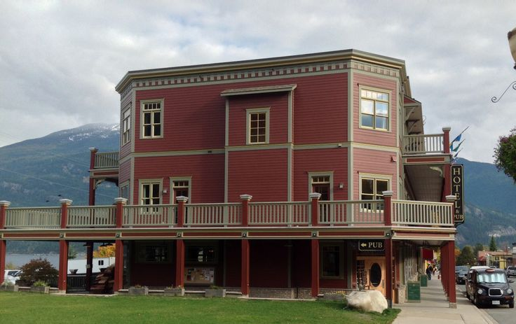 Kaslo Hotel. Kaslo BC. Canada. Old hotel completely restored. Rooms are the best...