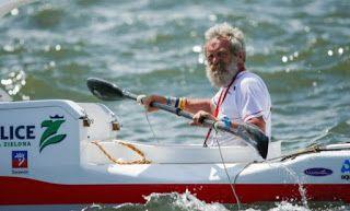 Ψυχή και δόσης τρέλας! 70χρονος διέσχισε τον Ατλαντικό μόνος του μ ένα κανό!
