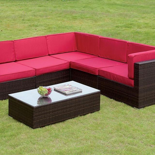 Furniture Of America Zendaya Outdoor Sectional Set. Outdoor  SectionalsZendayaFurniture OnlineOutdoor FurnitureLas VegasGarden ...
