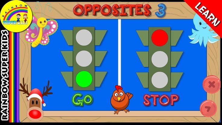 Learn Opposite Words for Kids | Opposite Words in English |  Antonyms fo...
