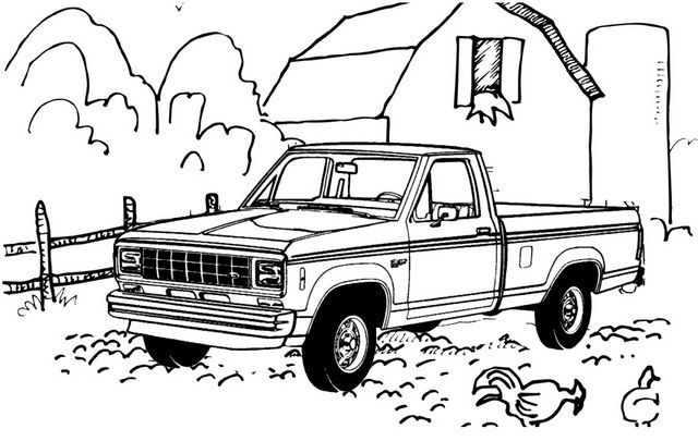 Lowered Chevy Truck Coloring Page In 2020 Truck Coloring Pages Coloring Pages For Boys New Chevy Truck