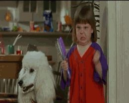 I have no idea where this gif is from, but this is exactly what I looked like when I was little