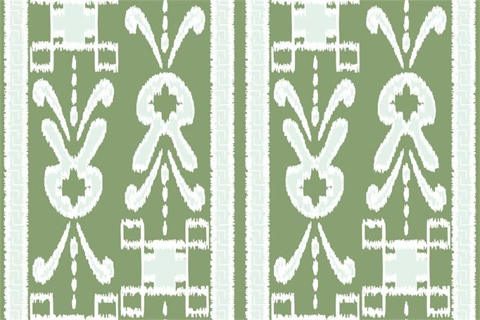 """""""Gigi 2"""" fabric in Kiwi by Cotton and Quill"""