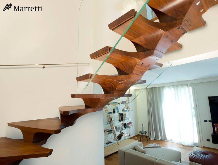 Die besten 25+ Glasgeländer innen Ideen auf Pinterest Treppe - exklusives treppen design