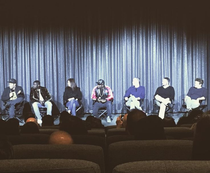 It was awesomely inspiring to hear @jordanpeele talk about how he wasnt sure if #getout would ever be made but just focused on making his favorite movie that he hasnt seen yet. #blumhouse #catherinekeener #lilrelhowery