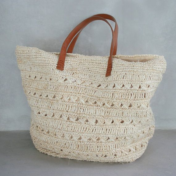 64 best Straw bags images on Pinterest | Straw bag, Bags and Beach ...