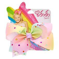 JoJo Siwa Small Pastel Rainbow Signature Hair Bow
