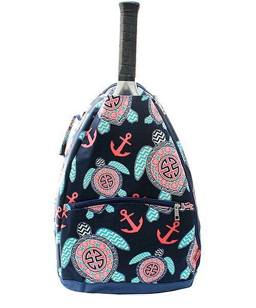 Monogram Tennis RACKET bag/personalized chevron owl tennis racket bag/tennis racket bag by sewsassybootique on Etsy