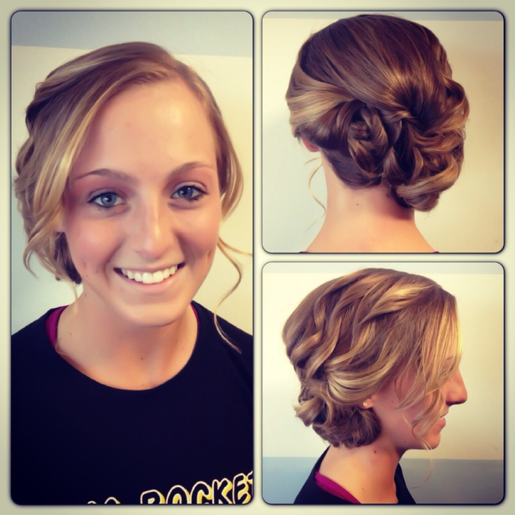 Cute Off To The Side Updo For Prom Hair By Emily Becker Blazecolorsalon