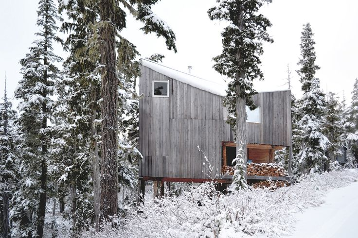 Built by Scott & Scott Architects in Port Hardy, Canada Vancouver architects Susan and David Scott launch their practice with the completion of a remote snowboard cabin loca...