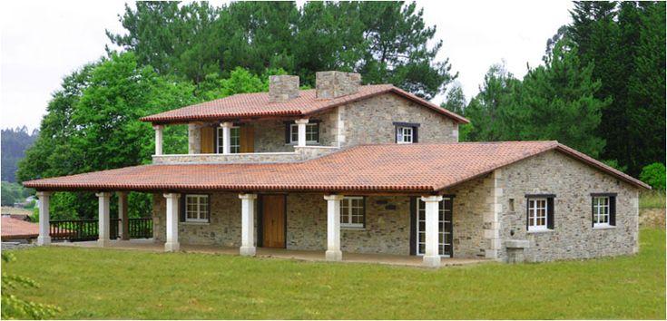 Construcciones r sticas gallegas casas r sticas de for Case in stile ranch hacienda