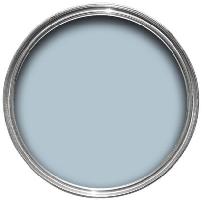 Dulux Timeless Emulsion Quintessential Blue for the lounge