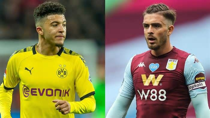 Jadon Sancho Is Manchester United S Priority As Jack Grealish Interest Cools In 2020 Jack Grealish Manchester United Manchester