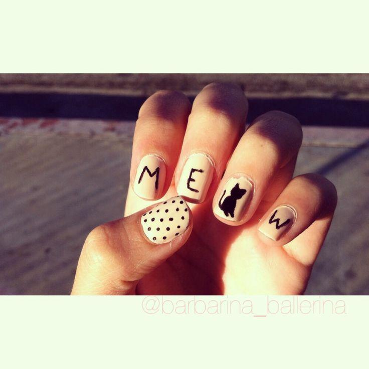 cat nail designs - Best 25+ Cat Nail Designs Ideas On Pinterest Cat Nail Art, Cat