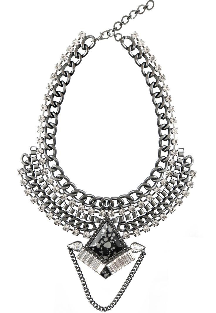 Iris Statement Necklace