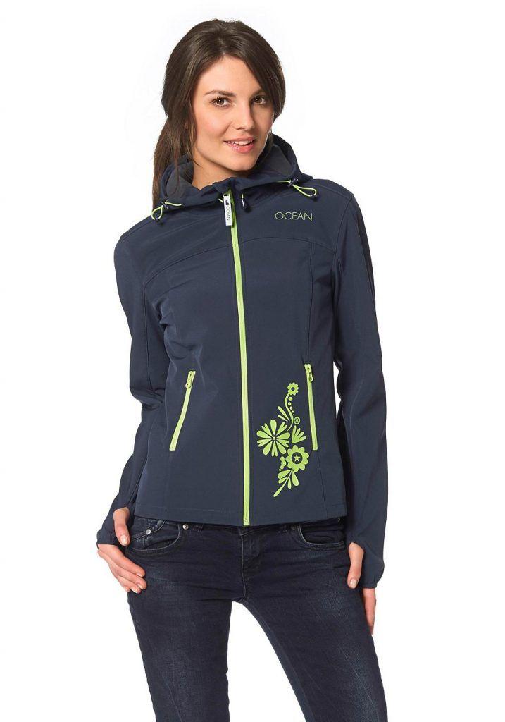 #Ocean #Sportswear #Damen #Ocean #Sportswear #Softshelljacke #blau - Produkttyp…