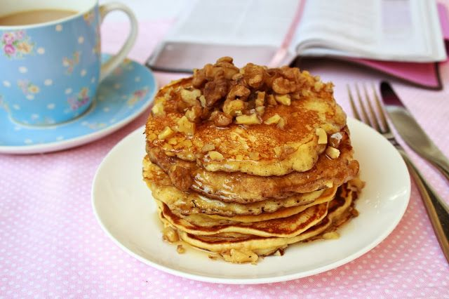 Apple Pancakes from Sarah Wilson's I Quit Sugar Cookbook
