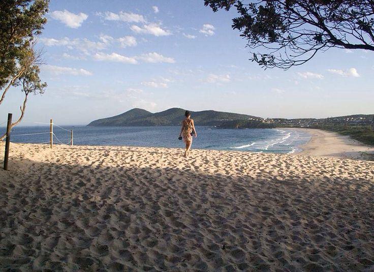 One Mile Beach, Forster NSW Australia