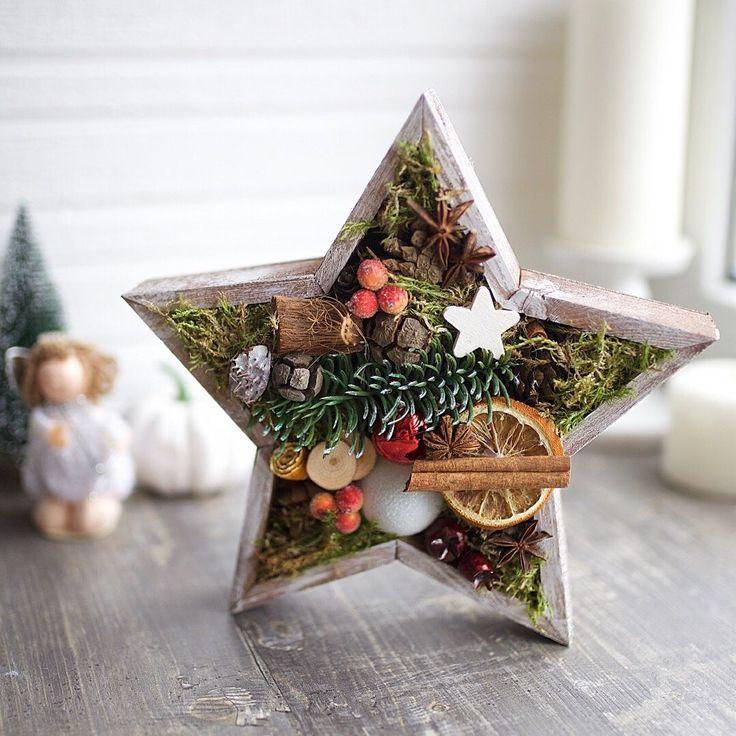 Декоративное панно «Звезда» – купить или заказать в интернет-магазине на Ярмарке Мастеров | Новогоднее настроение гарантировано если украсить…