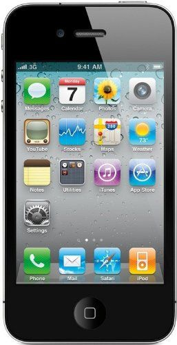 Apple iPhone 4 8GB Unlocked- Black:   The iPhone 4 is a follow-up to the popular 3GS model and steps up to a very high-resolution display, 5 megapixel camera with LED flash, and HD video capture. This model also features a front facing camera, a 3.5-inch multi-touch display, full web browser, WiFi, Bluetooth compatibility, GPS, and 8 GB of internal memory. The iPhone 4 is a feature-packed smartphone with quad-band GSM and WCDMA modes supporting international use.This device may require...