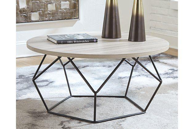 Waylowe Coffee Table Ashley Furniture Homestore In 2020 Coffee