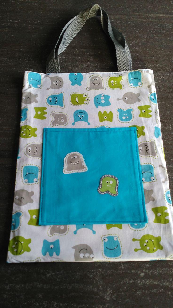 Les 25 meilleures id es de la cat gorie sac de biblioth que sur pinterest sacs de livres pour - Tuto panier tissu rigide ...