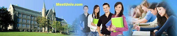 Meetuniv is the best platform for education abroad and search for a top and best colleges and universities of UK, USA and Canada. For more info visit - http://meetuniv.com/popular-college