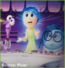 Michelle Garcia Winner 5 Teaching Ideas Connected to Pixar's Movie Inside Out
