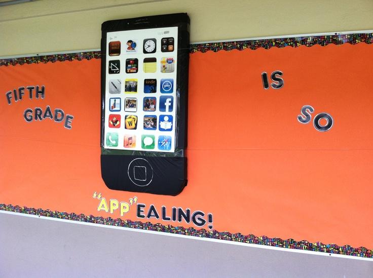 Classroom Ipad Ideas ~ Best iphone bulletin board ideas on pinterest ipad