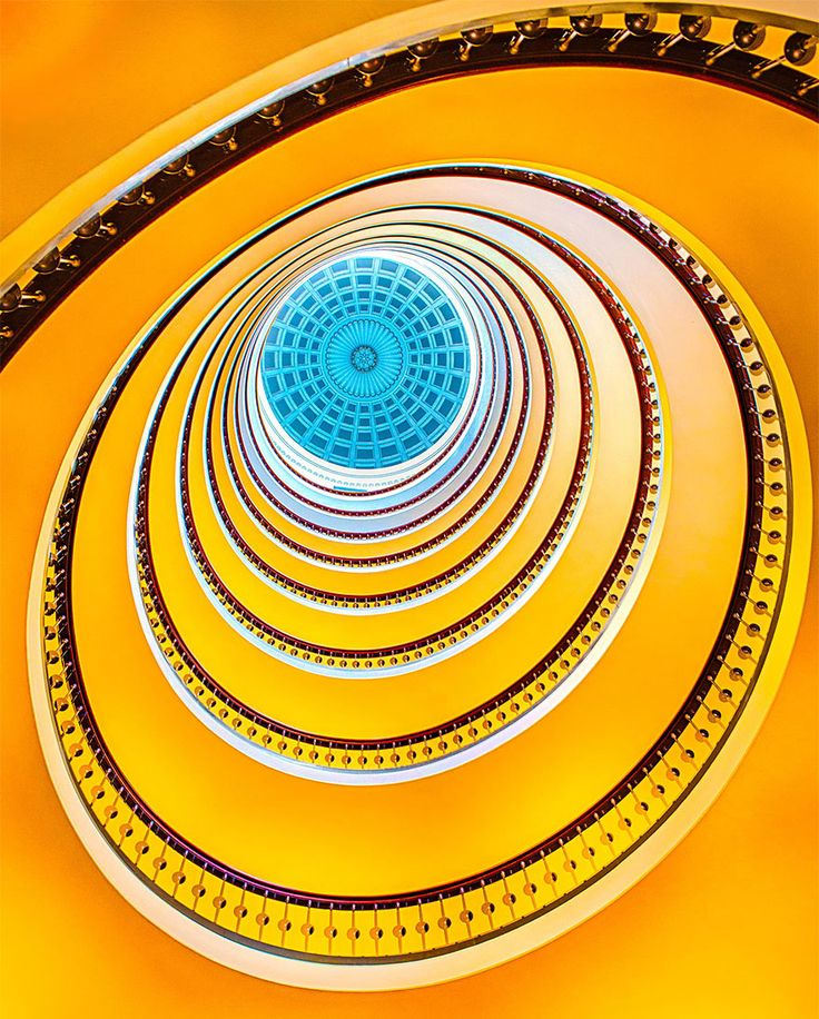 Stunning Spiral Staircase Photographs From Around the World