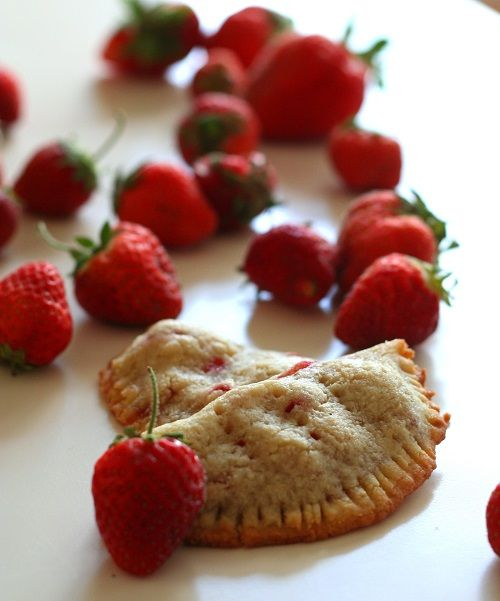 ** PASTRY CRUST**, no egg using almond flour and small amt gluten-free all-purpose. Strawberry Hand Pies