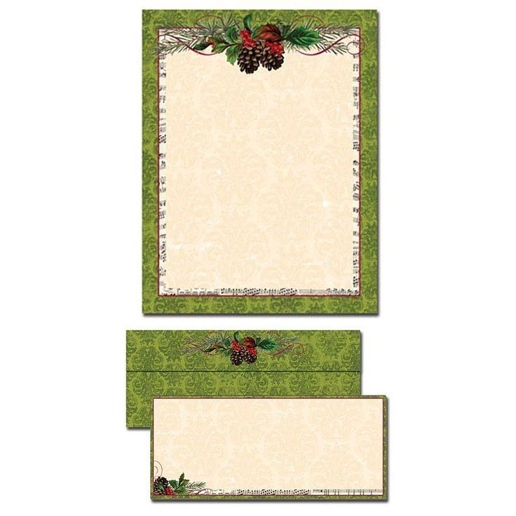 christmas letterhead paper