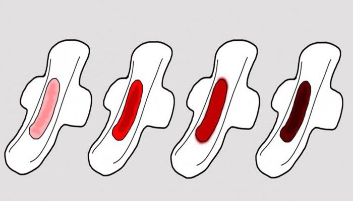 el color de tu periodo