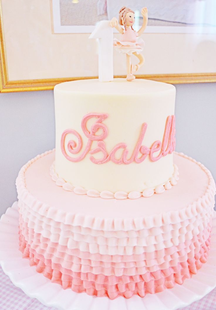 Images Of Cake For Girl Birthday : Best 25+ Girls first birthday cake ideas on Pinterest ...