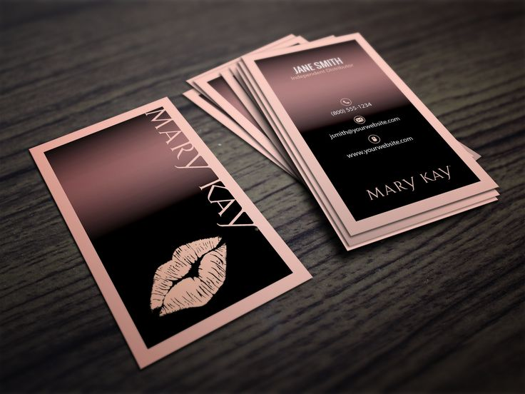 mary kay business cards mary kay cosmetics mary kay and card templates. Black Bedroom Furniture Sets. Home Design Ideas