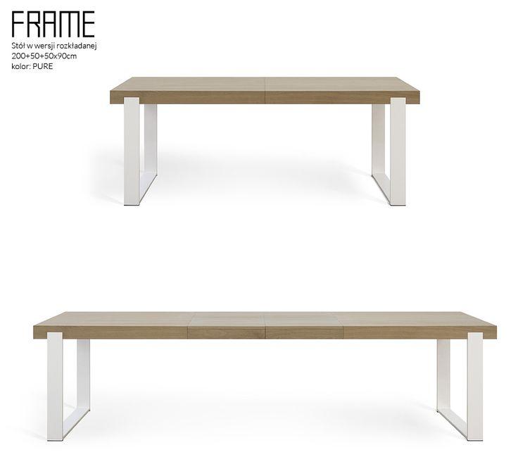 Stół rozkładany do jadalni FRAME - Miloni.pl