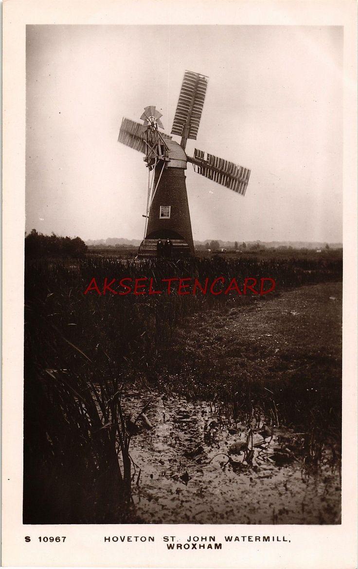 AK Hoveton St. John, Norfolk, Watermill, Wroxham, Windmühle | eBay