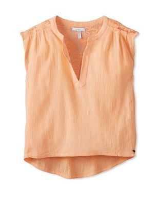 50% OFF O'Neill Girl's 7-16 Jimmy Shirt (Salmon)