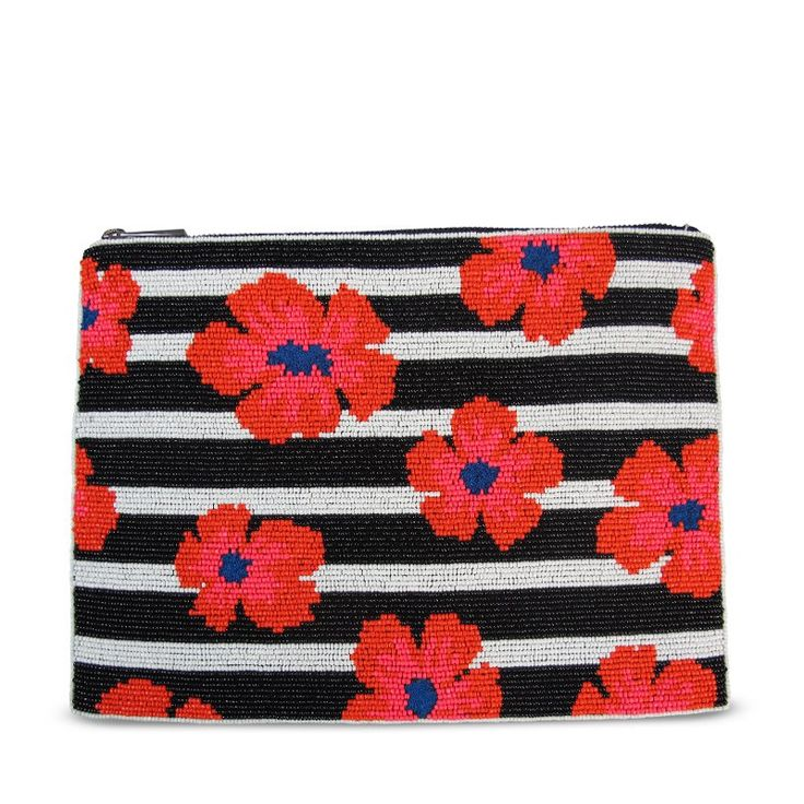VIDA Leather Statement Clutch - Shapes, Slices and Pips by VIDA