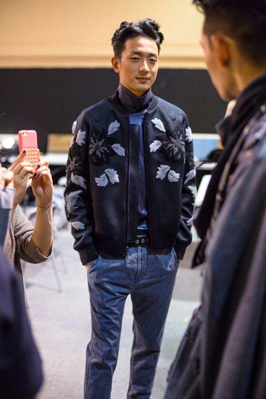 koreanmodel:  Park Sung Jin at 3.1 Phillip Lim F/W 14.15 Paris