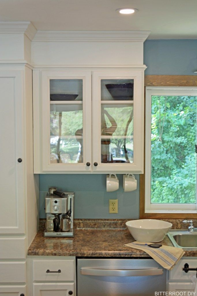 how to build your cabinets to the ceiling bitterroot diy projects rh pinterest com