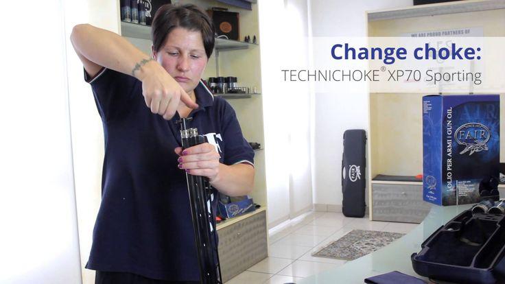 Cambio strozzatore TECHNICHOKE® XP70 Sporting | Change choke TECHNICHOKE...