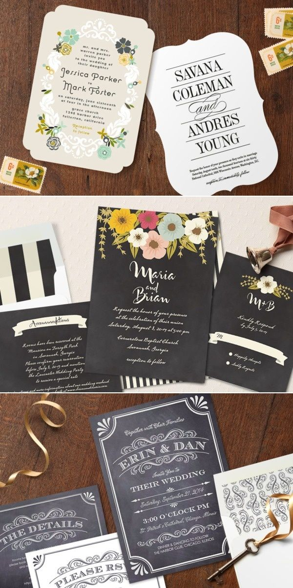 information on wedding invitation examples%0A Minted   Style Me Pretty Wedding