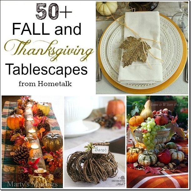 CONFESSIONS OF A PLATE ADDICT Thanksgiving Tablescapes