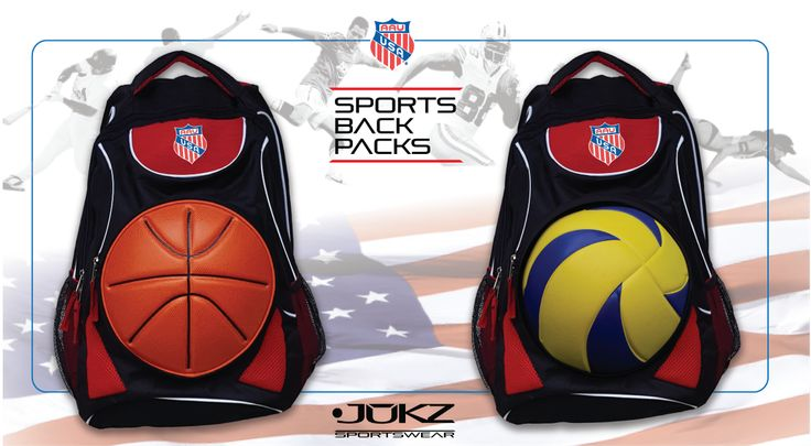 AAU Backpack Interchangeable Basketball