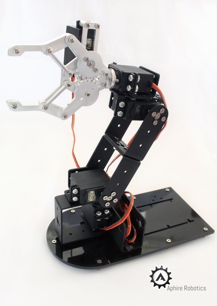 7c0a542d5535aad8d6dba76d1628de9d robotic arm robot kits 48 best robot arm images on pinterest industrial robots Robotic Wireing Up Close at cos-gaming.co