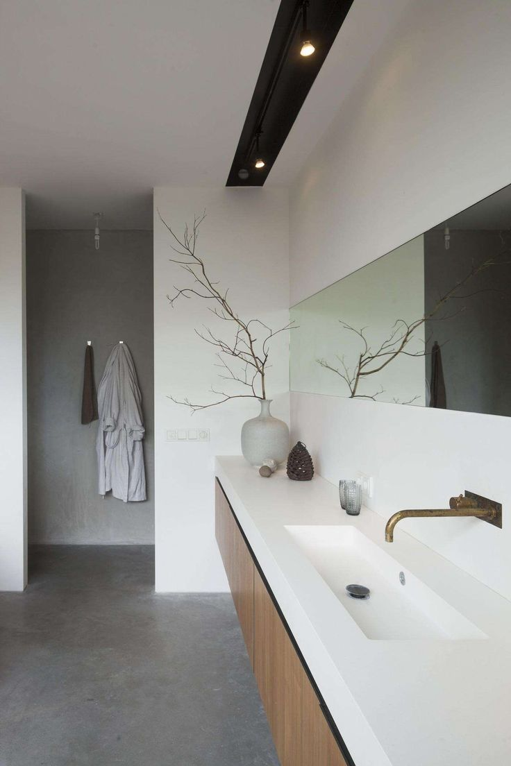 Trends Shaker | Concrete bathroom
