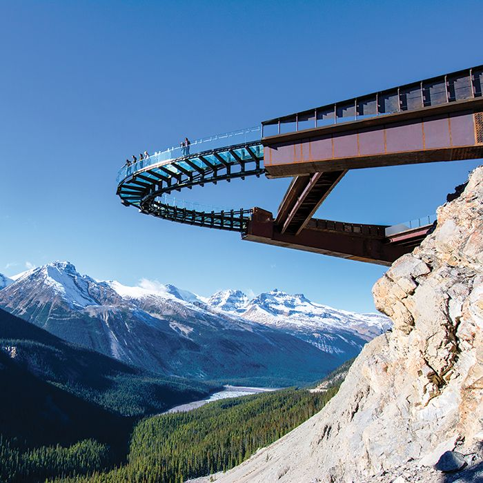While Banff is often touted as the national park of the Rockies, Jasper is actually the largest of the Rocky Mountain parks. Soaring peaks and over 1,200 km of hiking trails await. Take the Icefields Parkway to get there; it's one of the most scenic drives in the world.