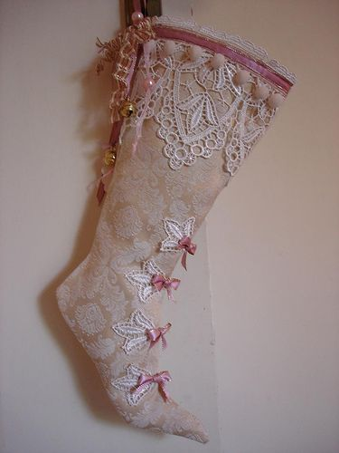 antique christmas stockings - Google Search