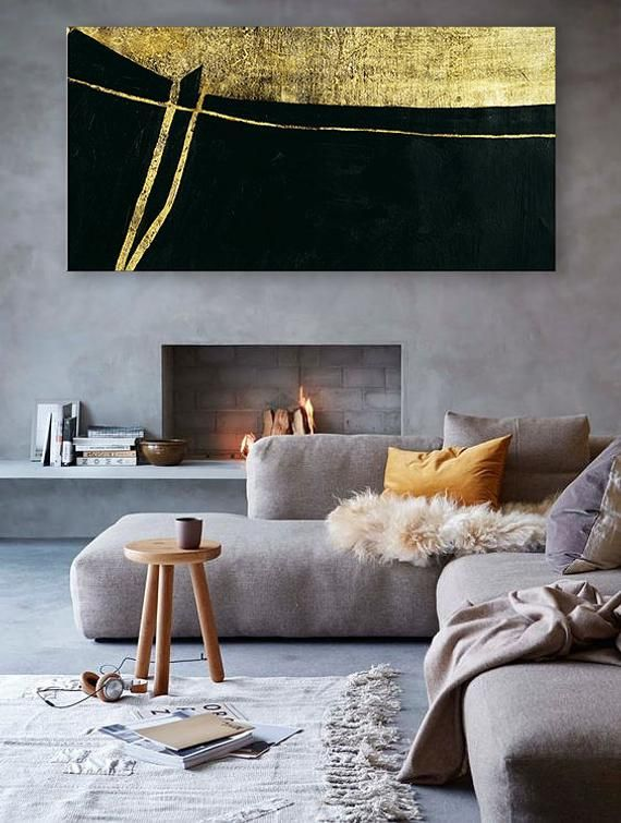extra large abstract painting original canvas wall art bedroom rh pinterest com